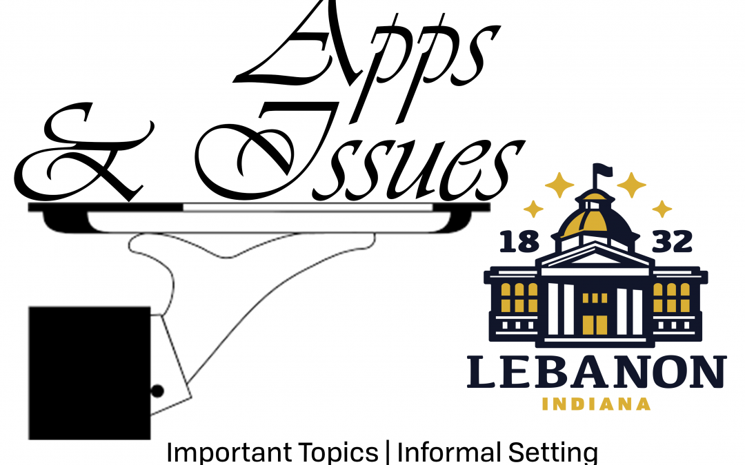 """Community Outreach – """"Apps & Issues"""""""
