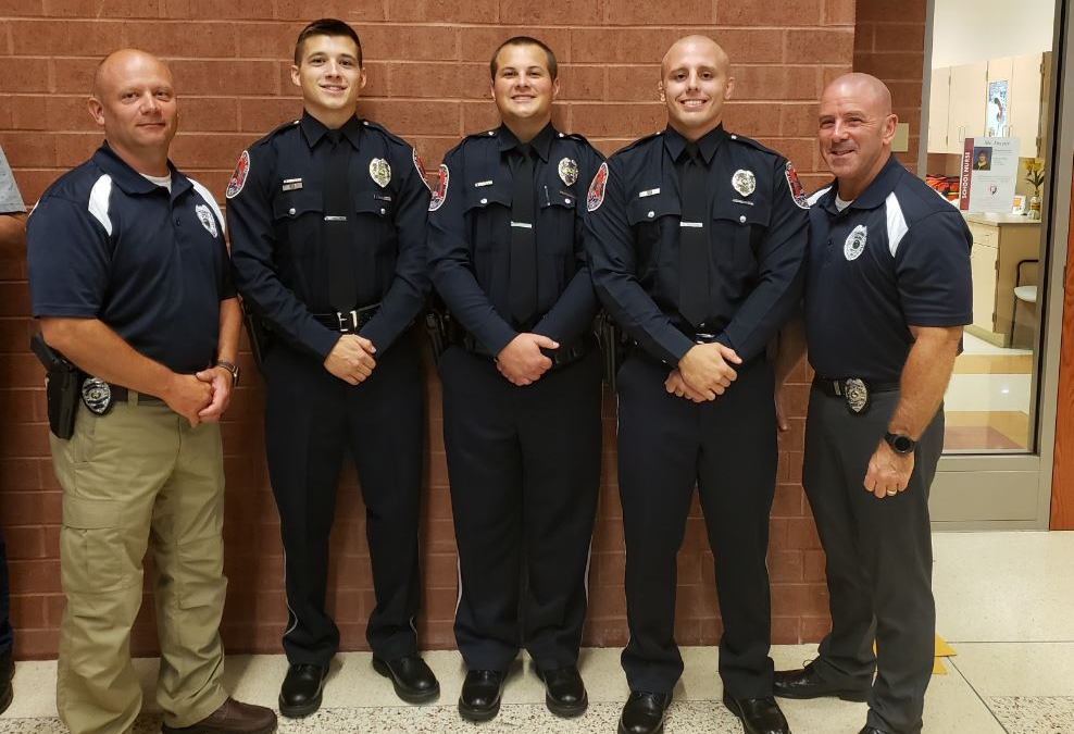 Lebanon Police Celebrate Graduating Officers