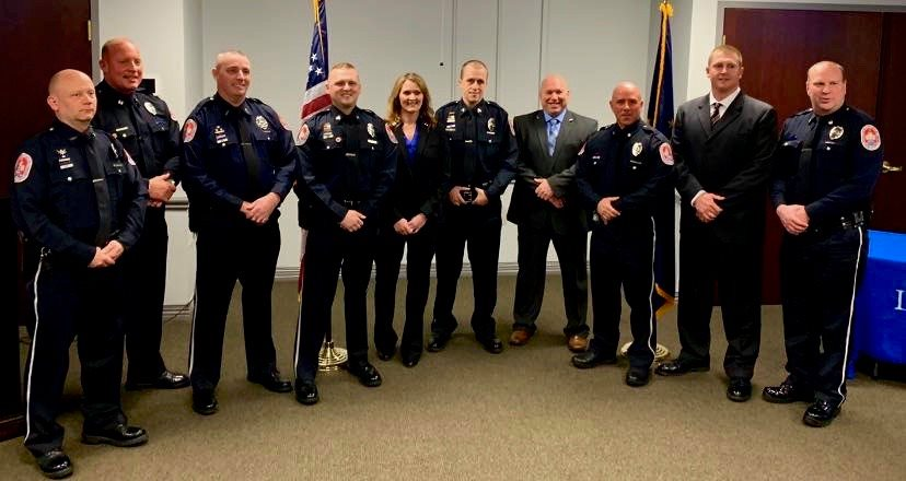 Lebanon Police Announce Promotions