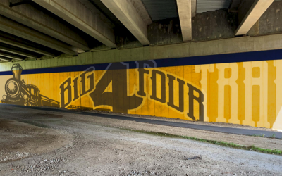 Lebanon's Big 4 Trail Mural Moving Forward Along I-65