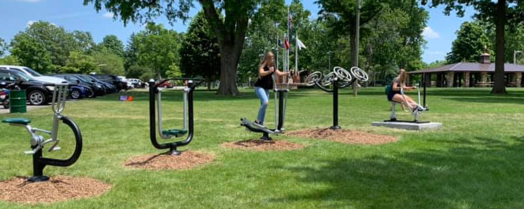 New Fitness Equipment Added to Memorial Park