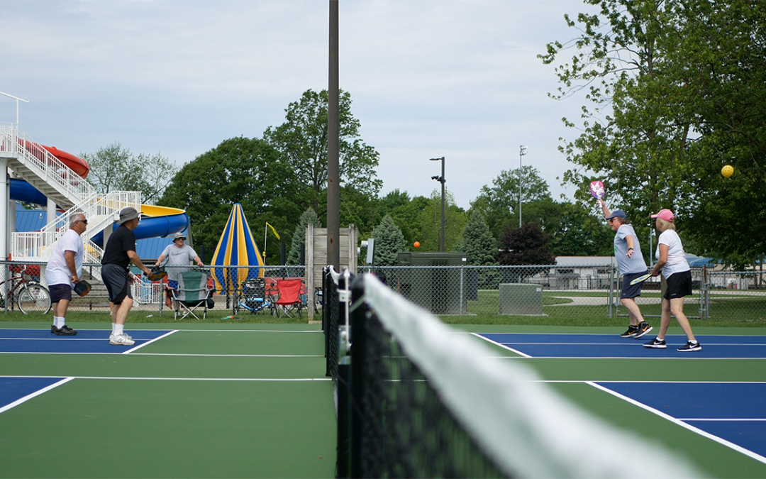 """Game On!"" City Begins Use of New Pickleball Courts"