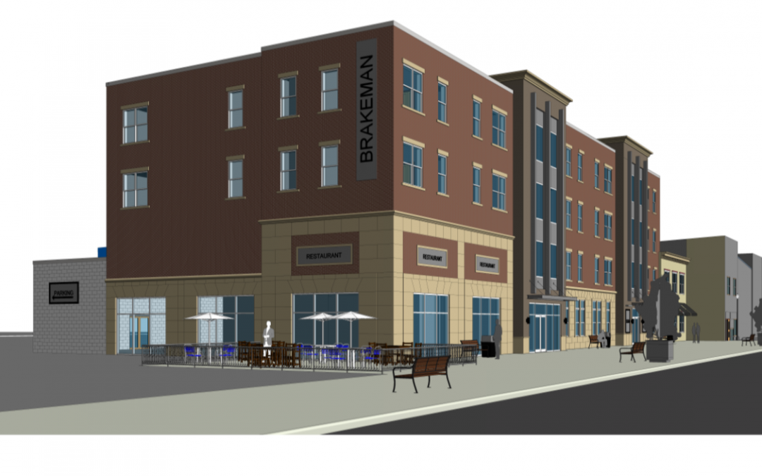 "Downtown Brakeman Building Gets Plan Commission's ""OK"""