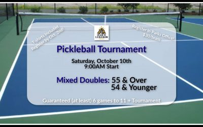 Parks Department to Hold Fall Pickleball Tournament