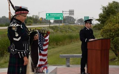 Lebanon Fire Department Holds 9/11 Remembrance Ceremony