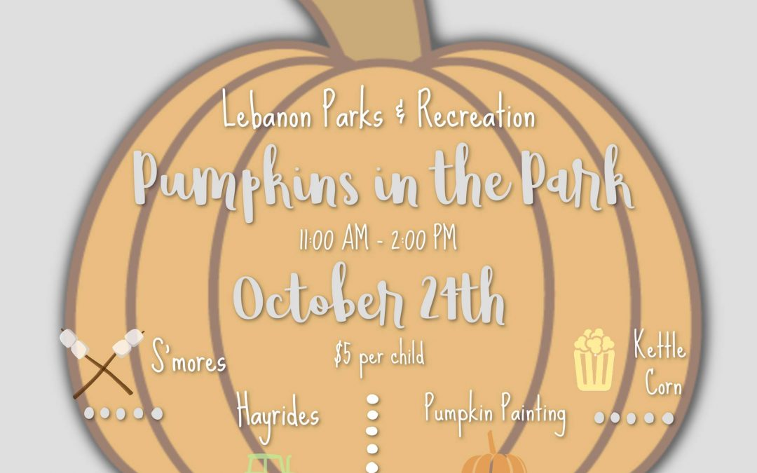 Pumpkins in the Park Event Announced