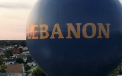City Unveils New Look Water Tower