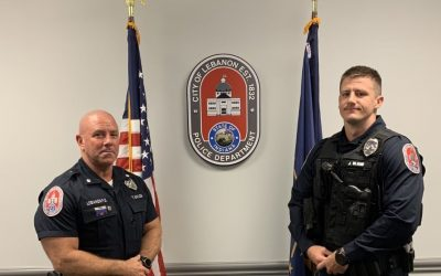 LPD's Newest Officer Completes Law Enforcement Academy Training